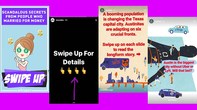 Tutorial Membuat Swipe Up Instagram