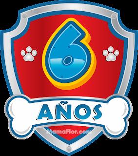 Fiesta Infantil de 6 años de Patrulla Canina