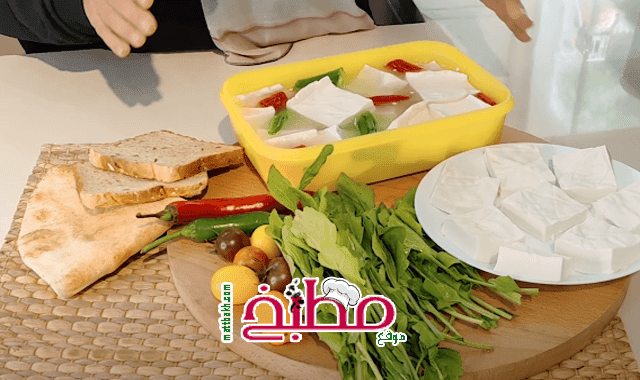 الجبنة الفلاحي في البيت بمكون واحد سحري فاطمه ابو حاتي