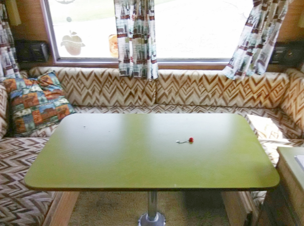 motorhome dining table