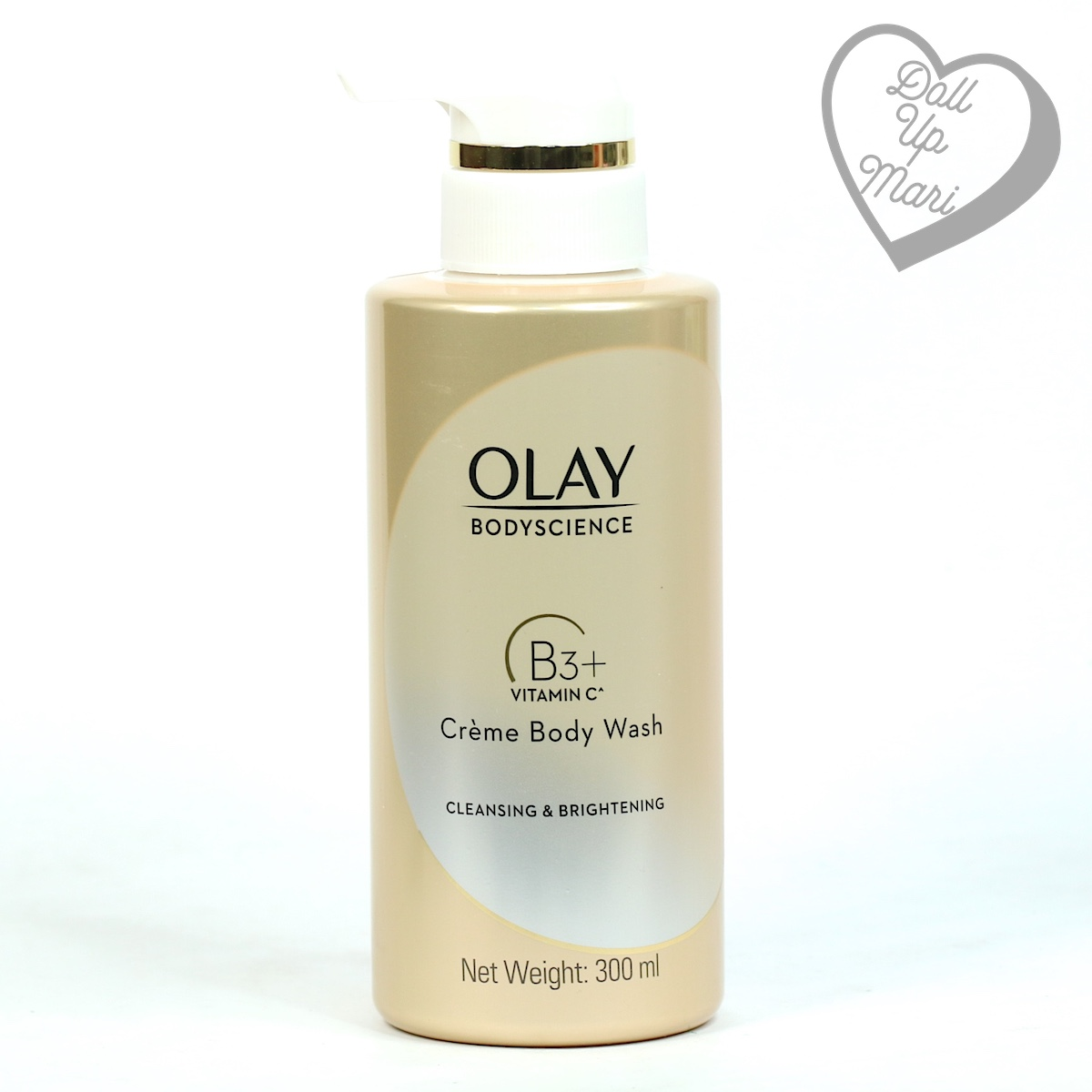 Olay BodyScience Crème Body Wash Cleansing and Brightening with Vitamin C Pack shot