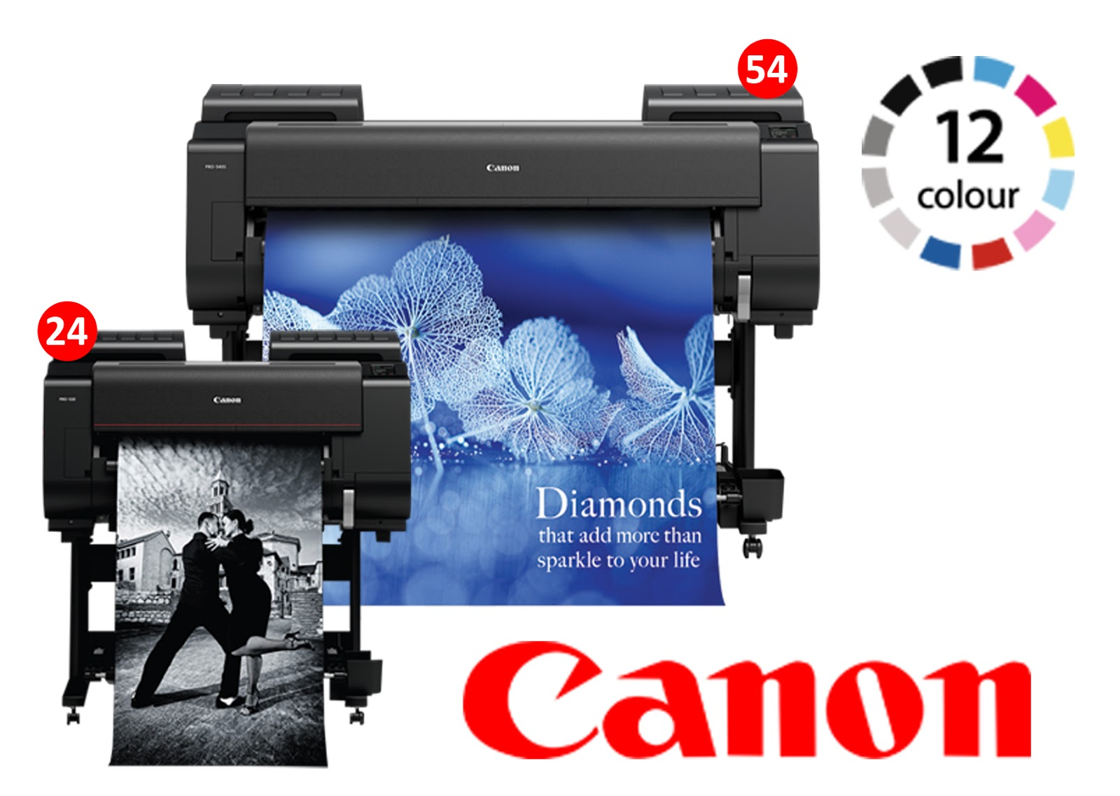 Canon Large format printers (LFP) consumable and Spare-part
