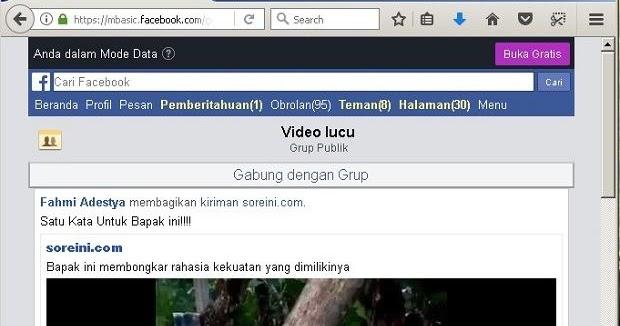 Langkah Alternatif Mendownload Video di Facebook #Tanpa Aplikasi