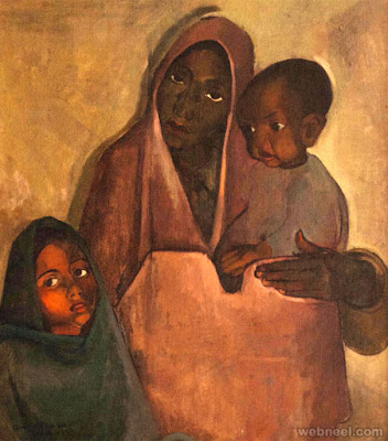 Mother India (1935)-Amrita Sher-Gil