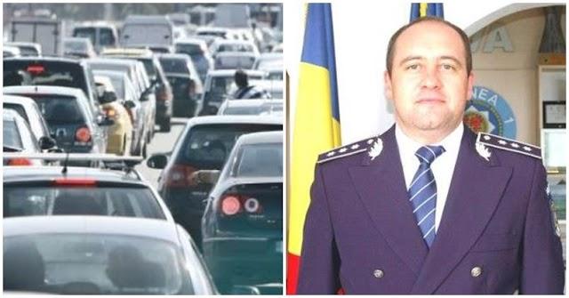Ce a făcut șeful IPJ Suceava în cea mai aglomerată zi a anului, când străzile orașului au fost blocate cu orele?