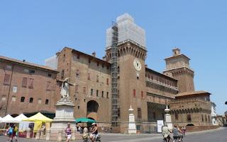 Ferrara,  Castillo Estense.