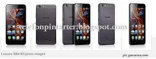 Rupa Telefon Lenovo Vibe K5