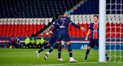 ملخص واهداف مباراة باريس سان جيرمان ولوريان (2-0) الدوري الفرنسي