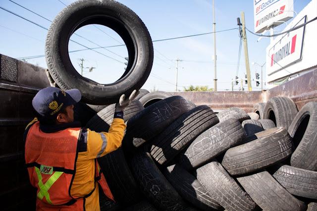 Municipio de Querétaro realizará Jornada de Acopio de Llantas Usadas