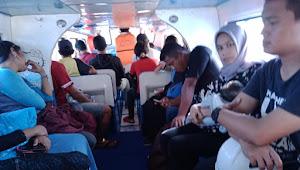 Speedboat Satu Putri Mati Mesin Ditengah Laut, 23 Penumpang di Evakuasi