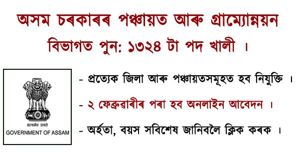 PNRD Jobs in Assam 2021