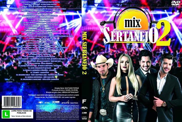 Capa DVD Mix Sertanejo 2