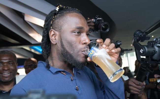 Burna Boy becomes Star Lager beer brand ambassador