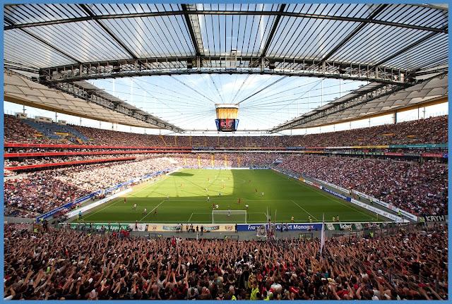 Fotos merzbank Arena SG Eintracht Frankfurt – Stadionwelt from Commerzbank arena innen