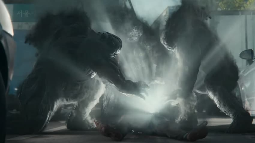 Netflix показал первый трейлер сериала Hellbound («Ад») от режиссёра хоррора «Поезд в Пусан»