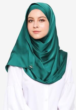 Hijab Bagus Hijau