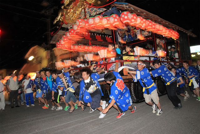 Gion Matsuri (parade of Edo Perio ladies & gentlemmen), Aizu Tajima, Fukushima
