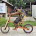 Man in Guimaras build eco-friendly wooden bicycle