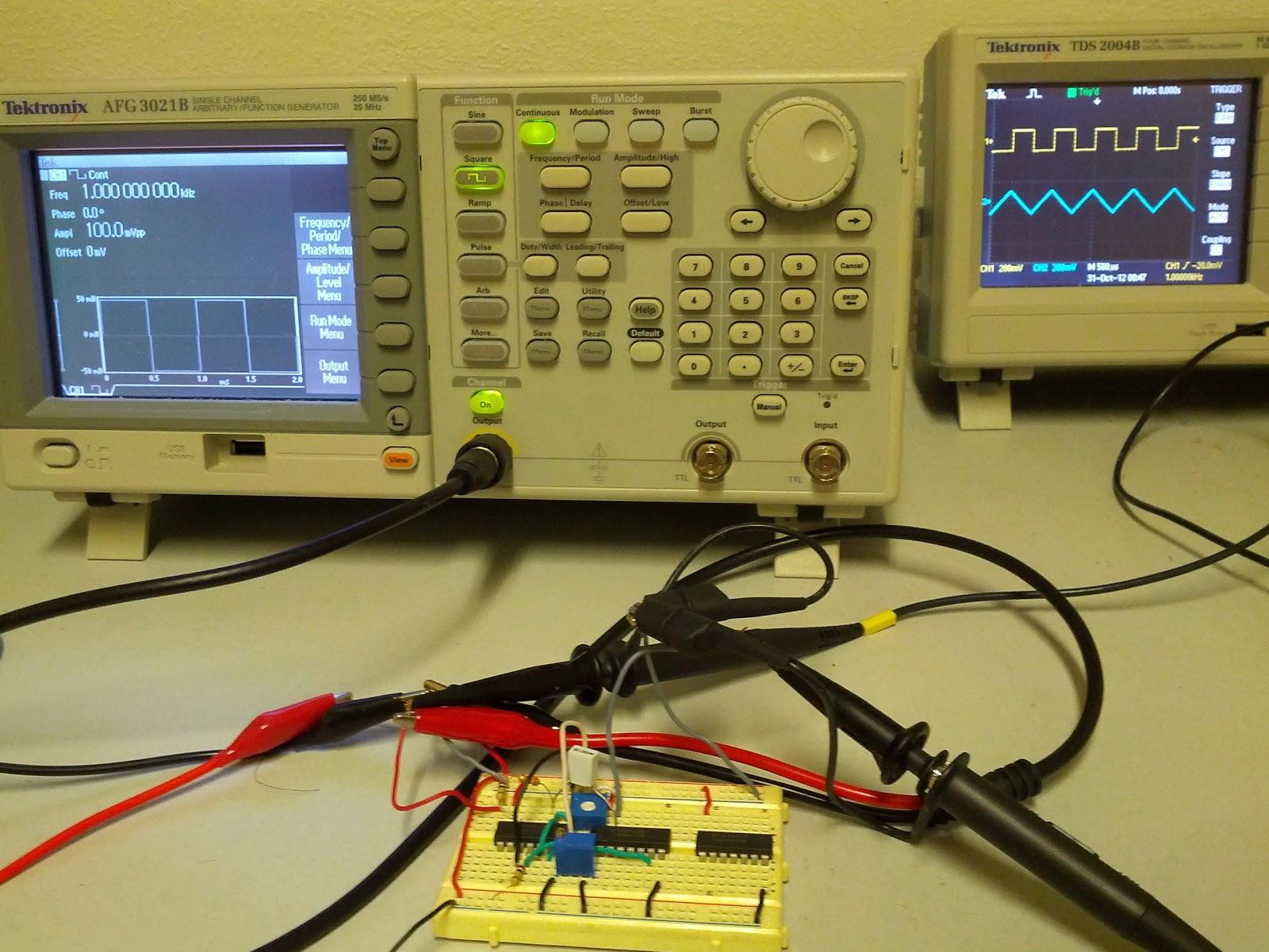 Simple Sine Wave Oscillator Schematic