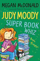 Judy Moody, Super Book Whiz by Megan McDonald book cover