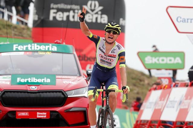 Rein Taaramäe é o primeiro estoniano a liderar a Vuelta a España