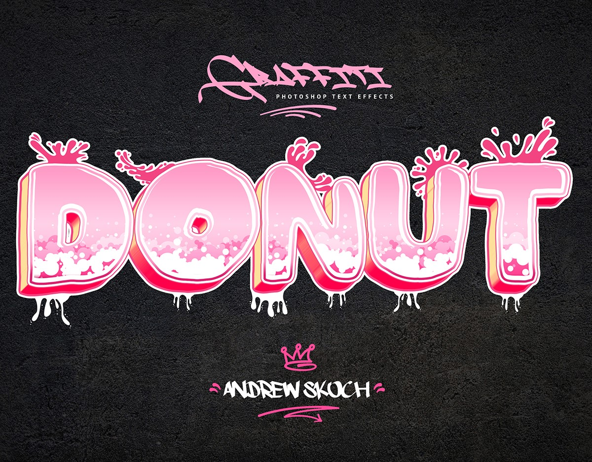 Graffiti Text Effects - 10 PSD - vol 2 Download Action Free