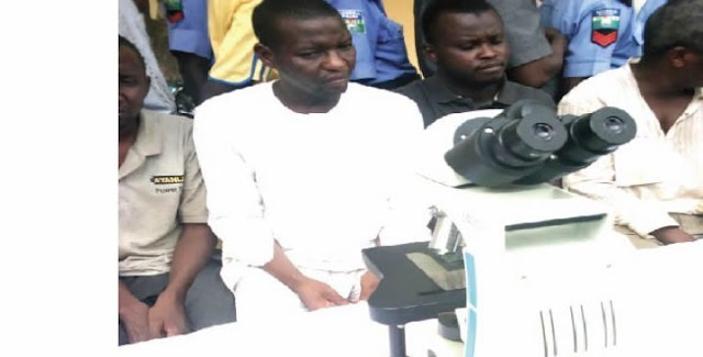 Why I sold hospital's N1.7m microscope for N5,000 - Suspect