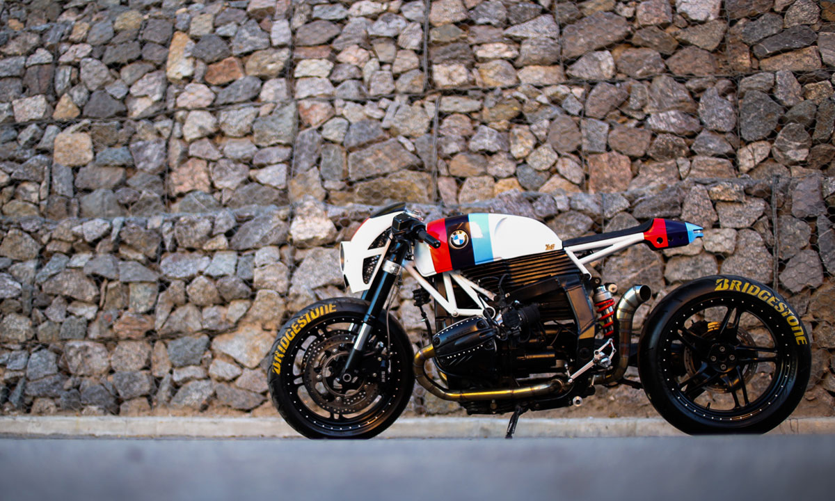 Modifikasi Motor BMW ala Cafe Racer