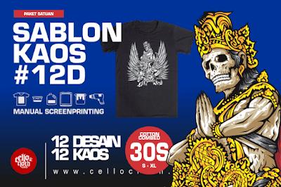 Paket Sablon Kaos Distro Untuk Memulai Brand Clothingan Tes Produk di Pasaran