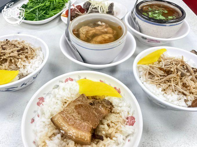 激推必點豬腦髓湯,銅板價就能吃飽飽,小吃一條街-林天生肉燥飯