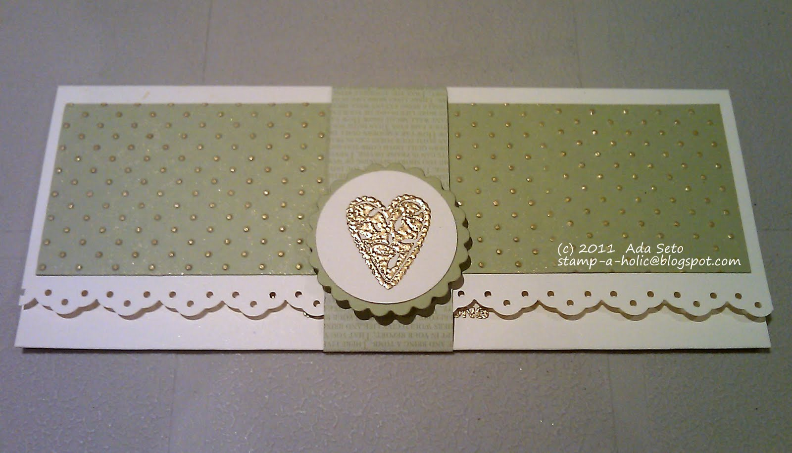 Confessions of a Stamp-a-holic: Money Holder Card