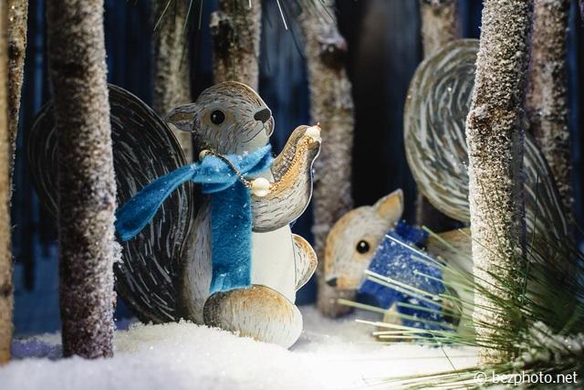 рождественские витрины нью-йорк 2016
