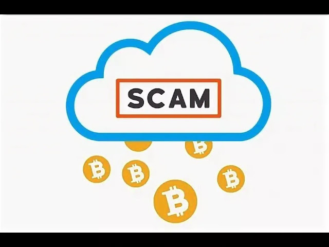 Scam Bitcoin cloud mining