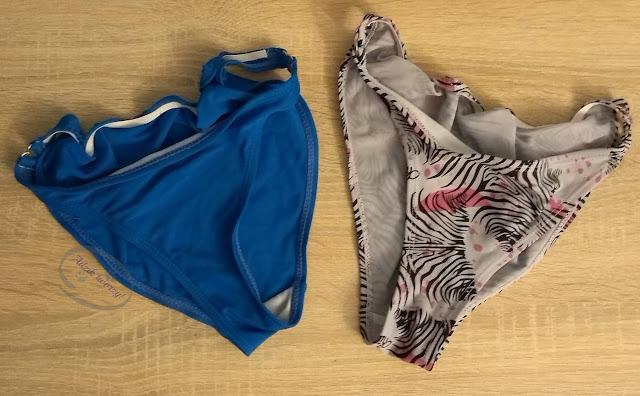 naprawy i przeróbki DIY majtek od bikini - Adzik tworzy