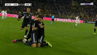 اهداف مباراة المانيا والارجنتين (2-2) تعليق حفيظ دراجي