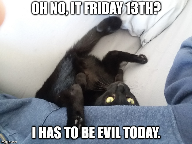 Another Brief(?) Diapause, Friday the 13th Edition