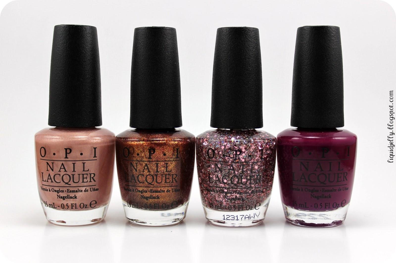 Liquid Jelly: OPI Mariah Carey Collection: Studio Shades