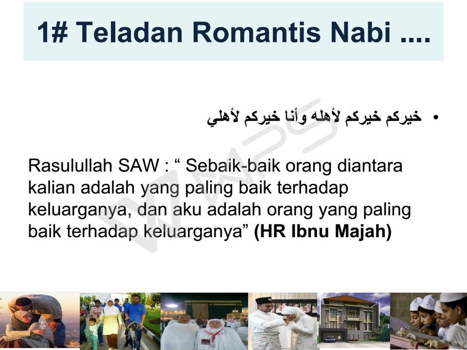 romantis teladan nabi