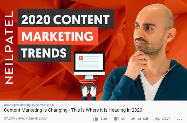 neil patel top seo youtube video content marketing