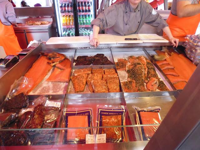 Fisketorget, el mercado de pescado de Bergen