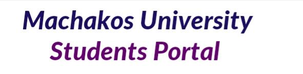 Student portal registration, login and password reset Machakos university