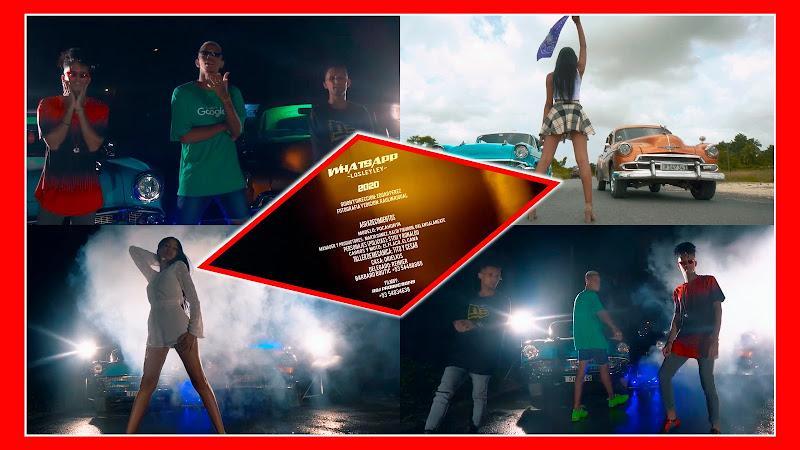 Los Ley Ley - ¨Whatsapp¨ - Videoclip - Director: Edgar Pérez. Portal Del Vídeo Clip Cubano. Música cubana. Reguetón. Cuba.