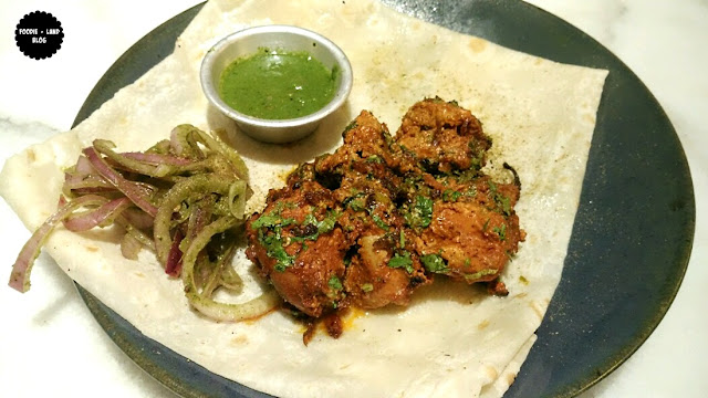 Old Delhi Murgh Boti with Butter Roomali @ The Bombay Brasserie Experience | Indiranagar | Bangalore