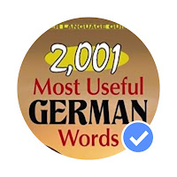 2001 từ tiếng Đức hữ ích nhất