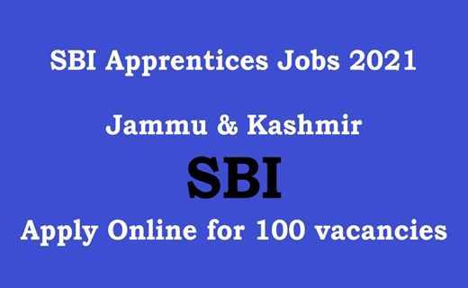 SBI Apprentices Jobs Notification 2021