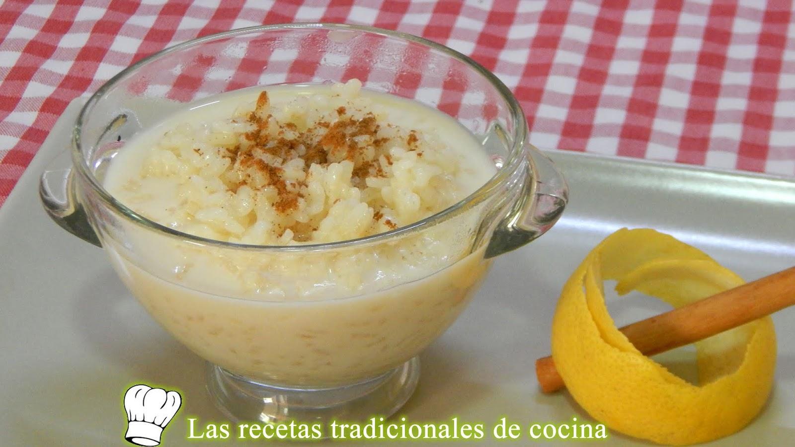 Postre Económico Y Delicioso Receta Fácil De Arroz Con Leche Al Horno