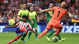 Late Partey Winner Keeps Atletico Perfect.