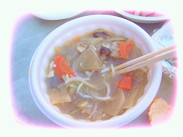 Makan Odeng di musim dingin