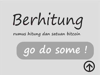 rumus dan satuan hitung bitcoin