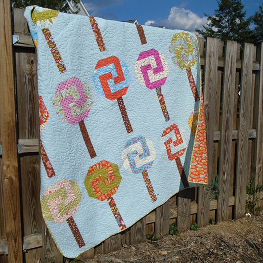 Candy Shop Quilt designed by Alison Vermilya from Little Bunny Quilts for Moda Bake Shop